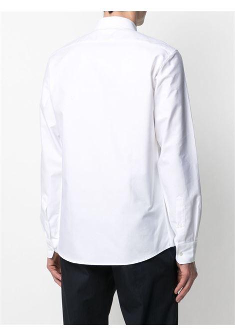 Maison kitsuné logo shirt men white MAISON KITSUNÉ | GM00453WC2010WH