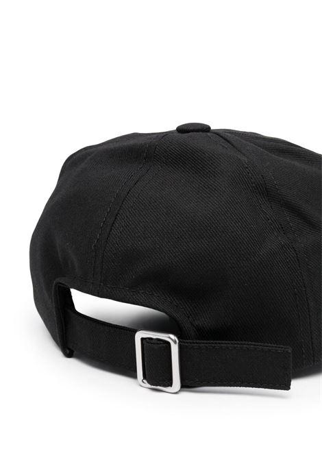 Maison kisuné baseball cap men black MAISON KITSUNÉ | GU06137WW0007BK