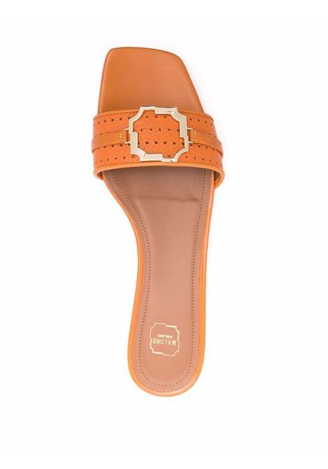 Malone souliers open-toe flats women orange MALONE SOULIERS | GENA103ORA