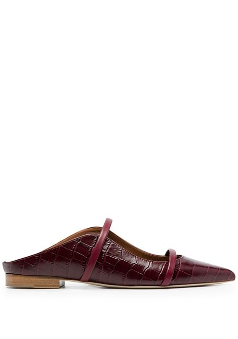 Malone Souliers mules maureen donna burgundy MALONE SOULIERS | Mules | MAUREENFLAT150BRGNDY