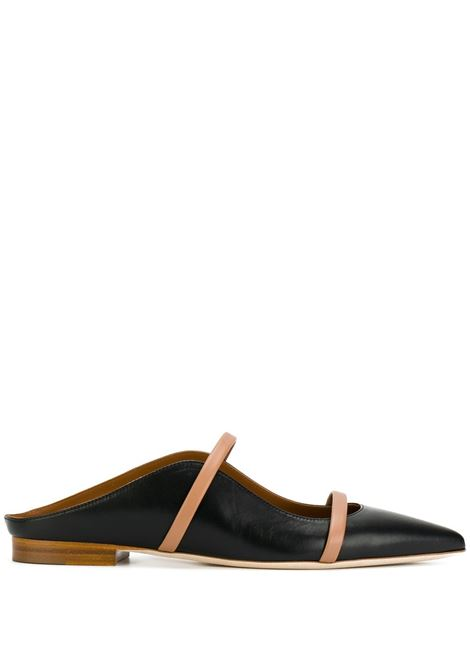 Malone Souliers maureen mules donna black nude MALONE SOULIERS | Mules | MAUREENFLAT20BLKND