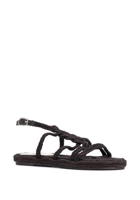 Yucatan sandals MANEBI | F76Y0BLKTP