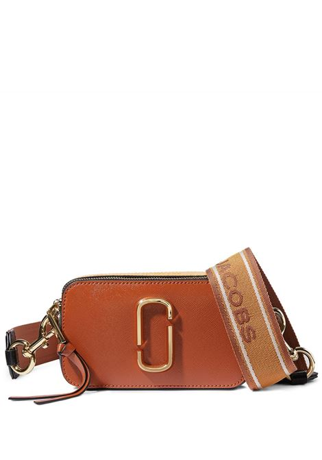 Marc Jacobs borsa snapshot donna saddle brown multi MARC JACOBS | Borse a tracolla | M0012007911