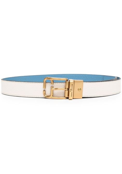 Marc jacobs logo buckle belt ivory country blue MARC JACOBS | Belts | M4008478110