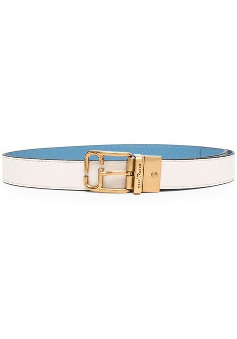 Marc jacobs cintura con fibbia donna ivory country blue MARC JACOBS | Cinture | M4008478110