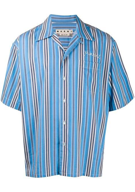 Marni camicia oversize uomo stb44 MARNI | Camicie | CUMU0054A0S53649STB44