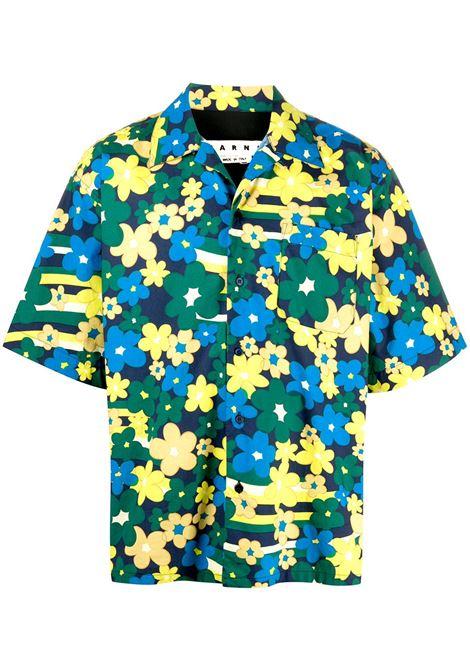 Marni camicia a fiori uomo rfv72 MARNI | Camicie | CUMU0054A0S53671RFV72