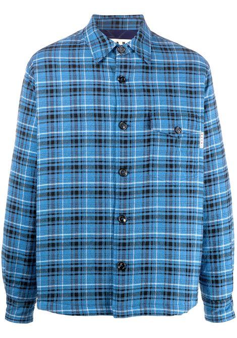 Marni giacca-camicia a quadri uomo chb55 MARNI | Camicie | CUMU0185W0S53653CHB55
