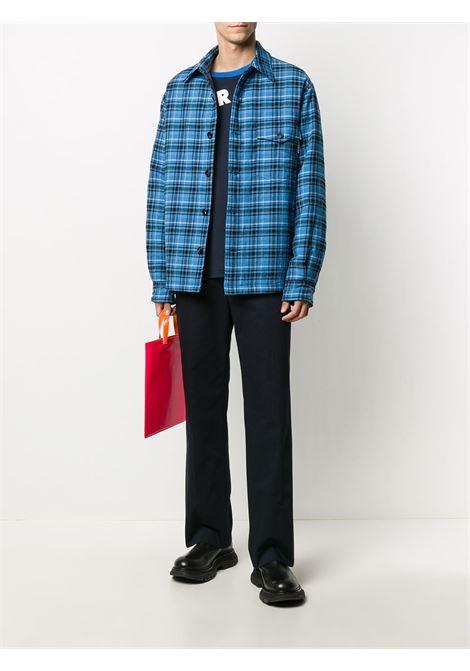 Check-print shirt jacket MARNI | CUMU0185W0S53653CHB55