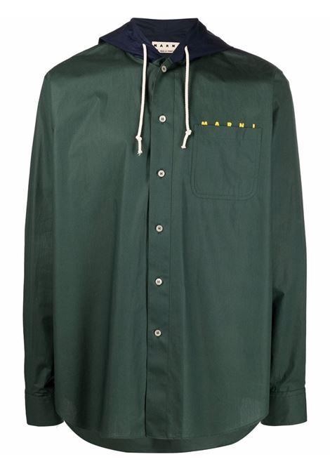 Marni camicia con cappuccio uomo 00v60 MARNI | Camicie | CUMU0217PQS5366300V60