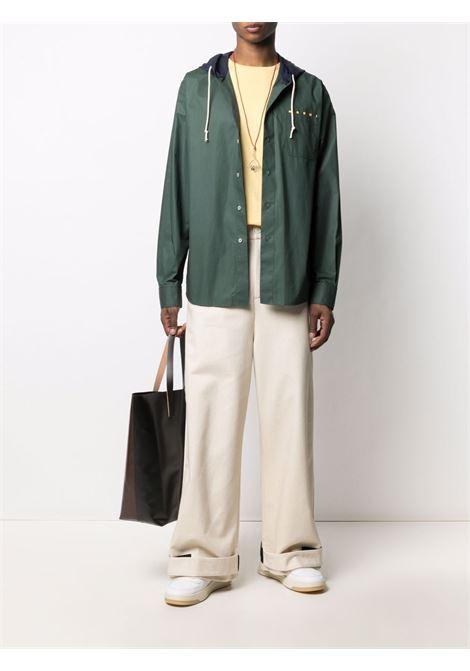 Marni hooded shirt men 00v60 MARNI | CUMU0217PQS5366300V60
