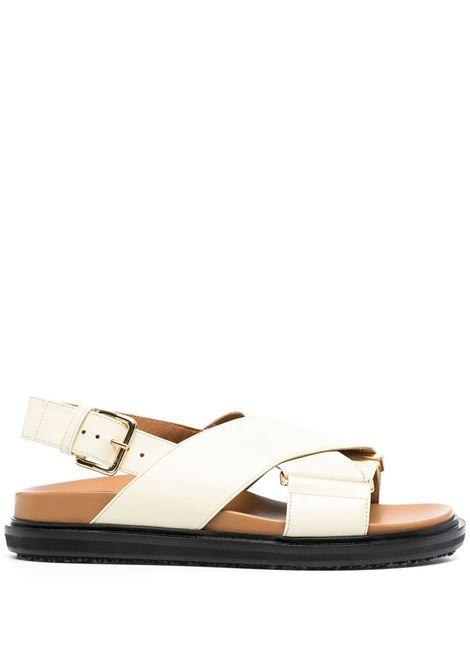 Marni sandali fussbett donna zn084 MARNI | Sandali | FBMS005201P3614ZN084