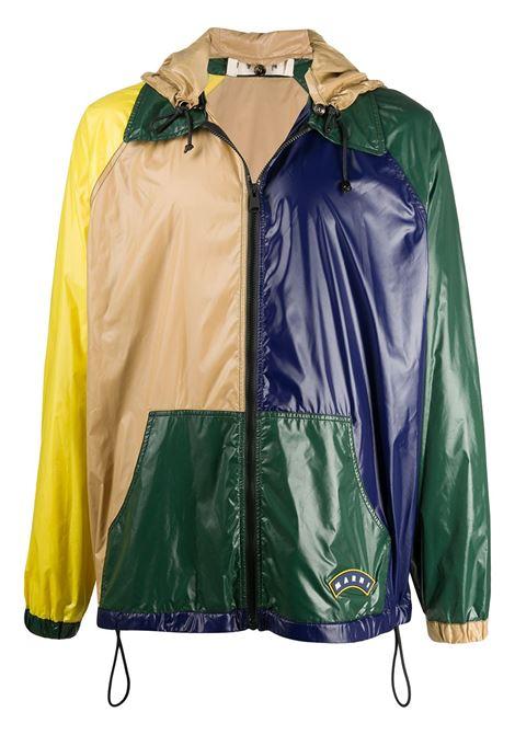 Marni giacca con design color-block uomo y4415 MARNI | Capispalla | JUMU0086Q0S53656Y4415