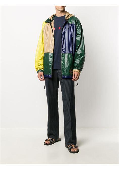 Colour-block jacket MARNI | JUMU0086Q0S53656Y4415