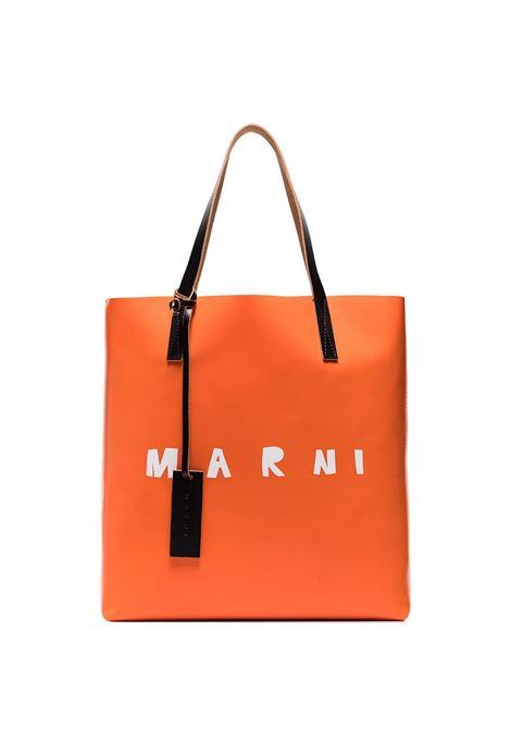 Marni borsa con logo donna z2n32 MARNI | Borse a mano | SHMPQ10A06P3660Z2N32