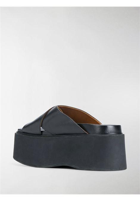 Sandali con cinturini incrociati Donna MARNI   ZPMS006006P403000N99