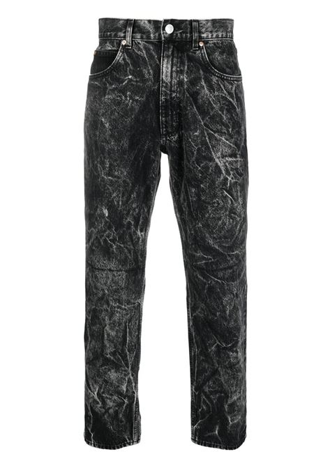 Martine Rose jeans dritti uomo black MARTINE ROSE | Jeans | MR223BMR009