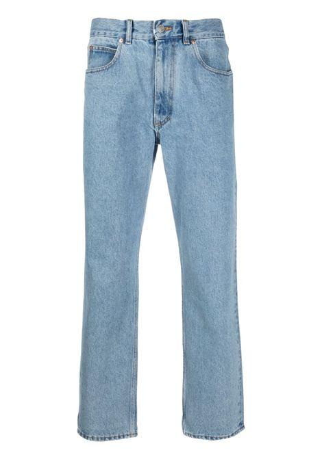 Martine Rose jeans con stampa uomo blue denim MARTINE ROSE | Jeans | MR223DMR063
