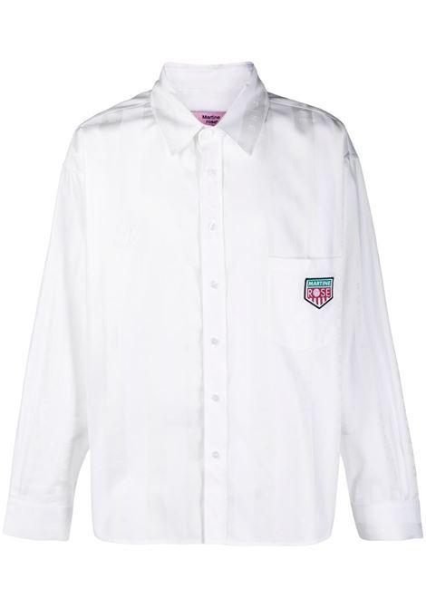 Camicia a righe con logo Uomo MARTINE ROSE | MR428IMR001