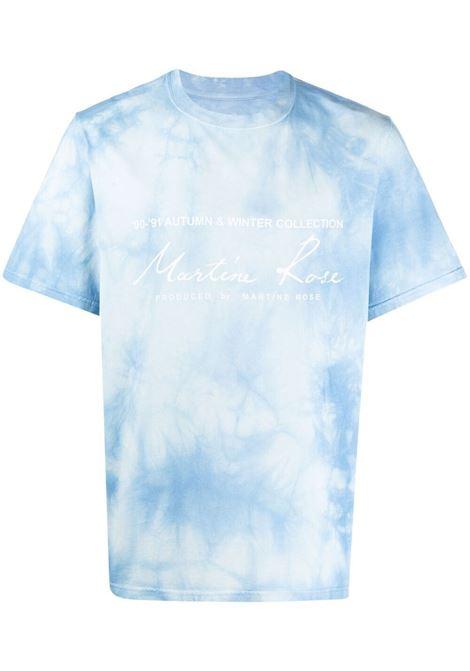 Martine rose t-shirt con fantasia tie dye uomo light blue MARTINE ROSE | T-shirt | MR603TMR061