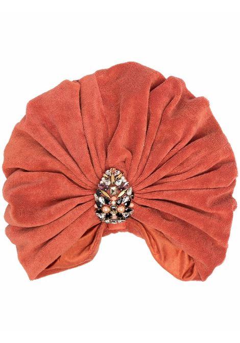 Maryjane claverol turbante souk donna terra MARYJANE CLAVEROL | Accessori per capelli | 0160020739TRR