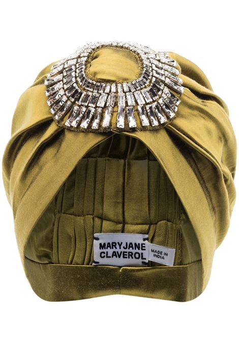 Maryjane claverol turbante playera donna khaki MARYJANE CLAVEROL | Accessori per capelli | 0190020754KHK