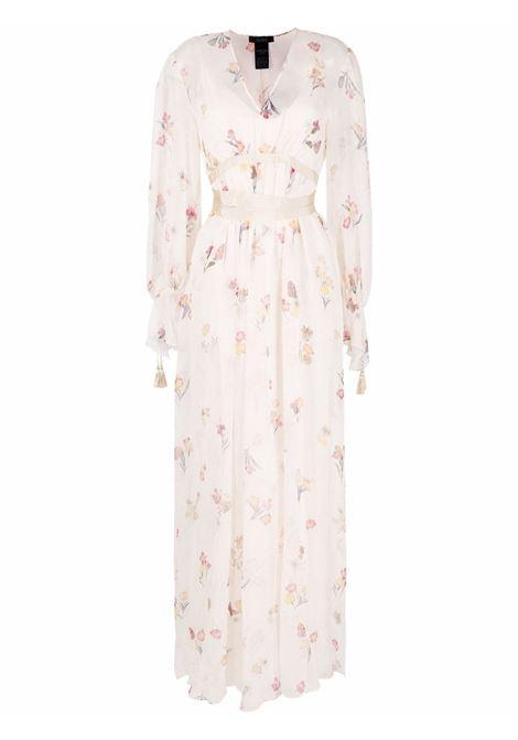Maxmara pianoforte floral-print maxi dress women 002 beige MAXMARA PIANOFORTE | Dresses | 12310117600002