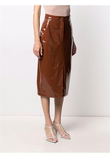 Maxmara sportmax natalia skirt women 003 brown MAXMARA SPORTMAX | 21010217600003