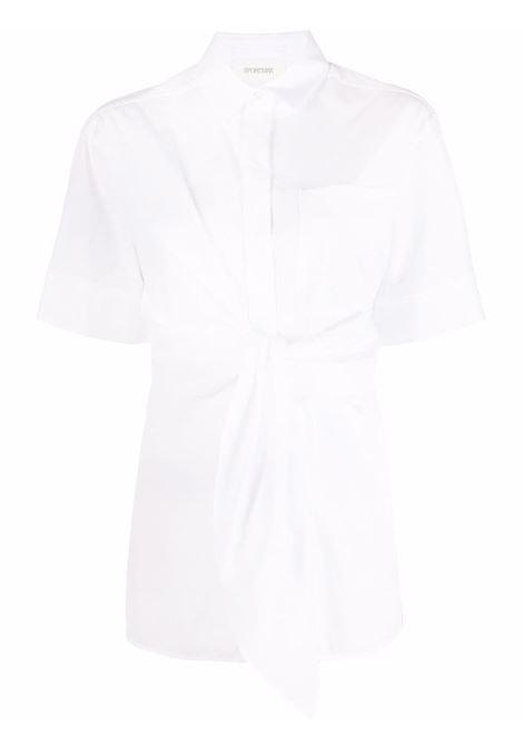 Maxmara sportmax camicia giro donna 036 bianco MAXMARA SPORTMAX | Camicie | 21110211600036