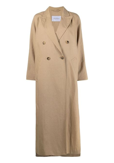 Maxmara side-slits coat women camel MAXMARA | Outerwear | 11210112600007