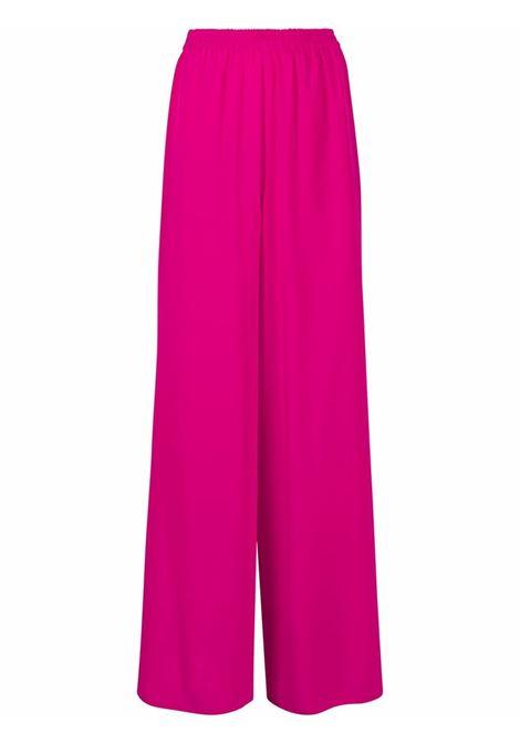 Maxmara pantaloni a gamba ampia donna 018 pink MAXMARA | Pantaloni | 11310112600018