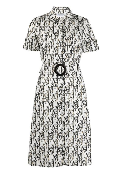 Maxmara shirt dress women white MAXMARA | Dresses | 12211512600001