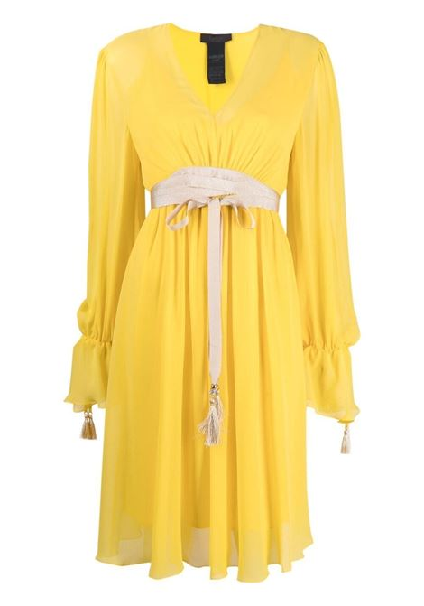 Maxmara pianoforte damien dress women 008 giallo MAXMARA PIANOFORTE | Dresses | 12310217600008