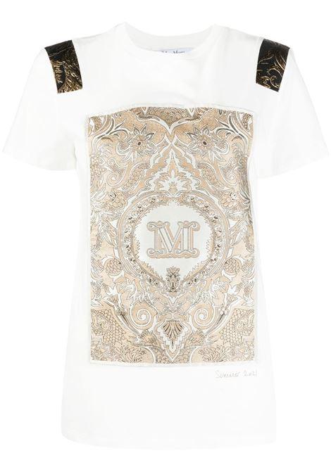 Maxmara logo t-shirt women bianco MAXMARA   T-shirt   19411818600001