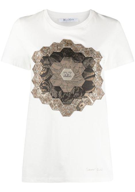 Maxmara palau t-shirt women bianco MAXMARA | T-shirt | 19412318600007