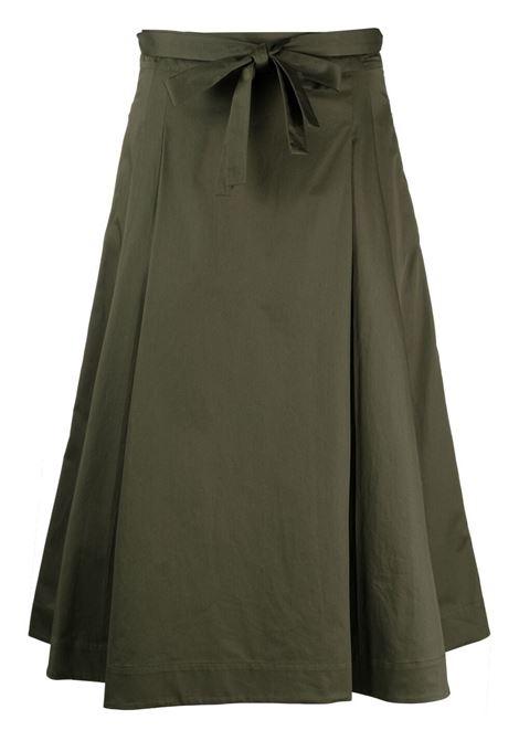 Maxmara tegola skirt women khaki MAXMARA | Skirts | 91010212600006