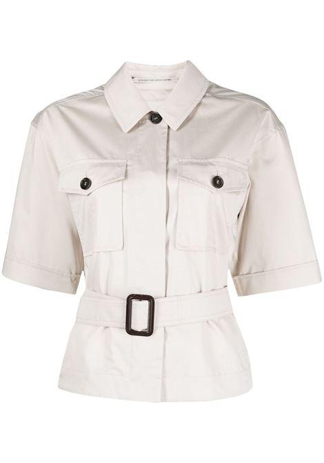 Maxmara camicia rea donna ecru MAXMARA | Camicie | 91110312600002