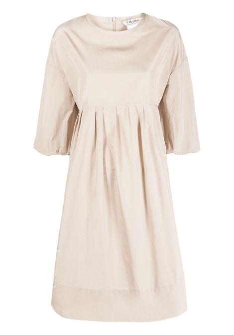 Maxmara abito esotico donna beige MAXMARA | Abiti | 92210611600008