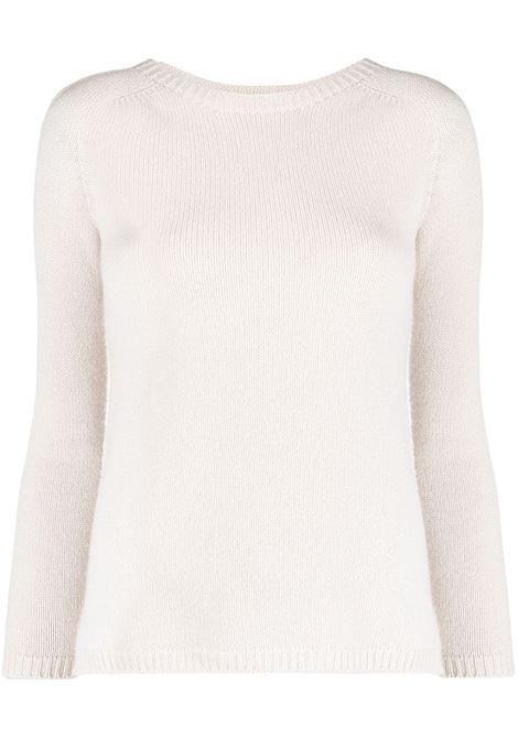 Maxmara giorgio jumper women ecru MAXMARA | Sweaters | 93610311600011