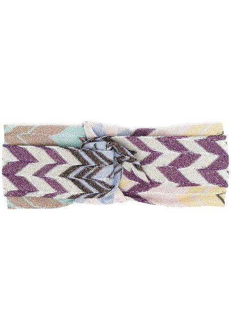 Missoni cerchietto con design a incrocio donna sm48u MISSONI | Accessori per capelli | MDS00018BR00DRSM48U