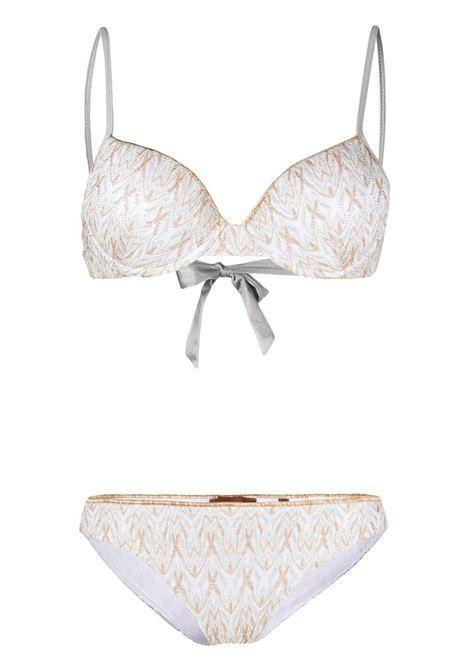 Missoni zigzag bikini set women s00gt MISSONI | Swimwear | MMP00122BR00DIS00GT