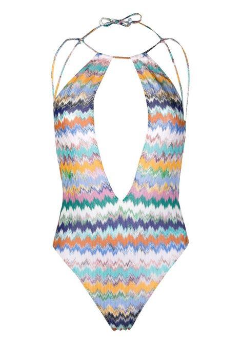 Missoni costume con motivo zigzag donna sm51c MISSONI | Costumi | MMP00263BR00E8SM51C