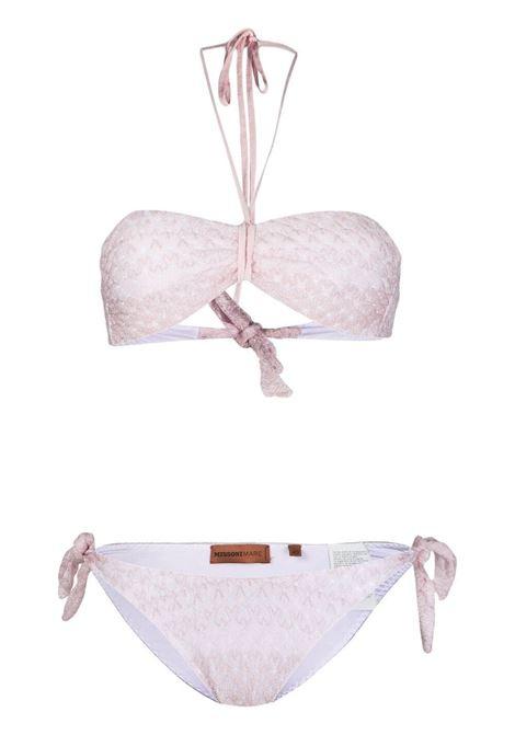 Set bikini geometrico Donna MISSONI | Costumi | MMP00265BR00E2S307U
