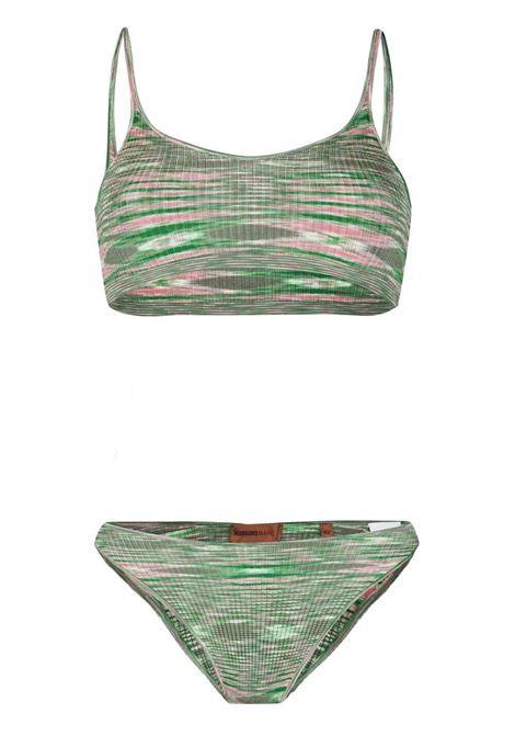 Completo bikini a righe Donna MISSONI | Costumi | MMP00272BT002EFM08T