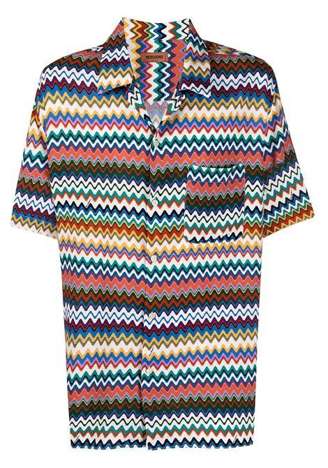 Zigzag print shirt MISSONI | Shirts | MUJ00022BW00DQSM50E