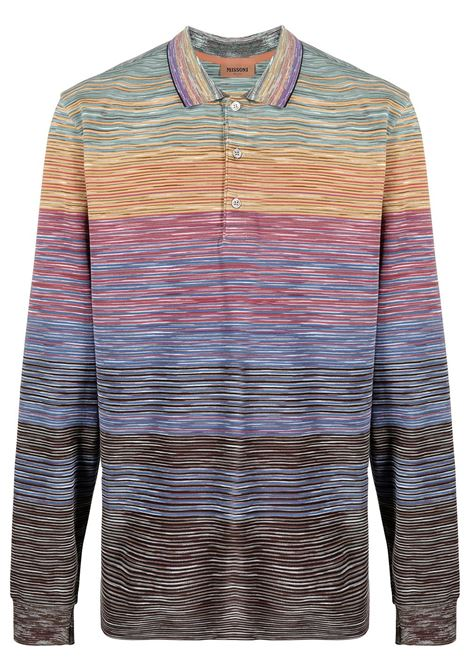Long sleeve striped tshirt MISSONI | T-shirt | MUL00005BJ0014F200X