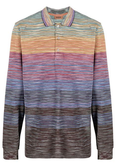 Missoni t-shirt a maniche lunghe uomo f200x MISSONI | T-shirt | MUL00005BJ0014F200X