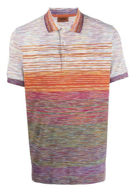 Marl-knit cotton polo shirt MISSONI | Polo | MUL00007BJ0067F200W