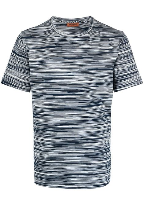 Missoni t-shirt con stampa uomo f703i MISSONI | T-shirt | MUL00037BJ0001F703I