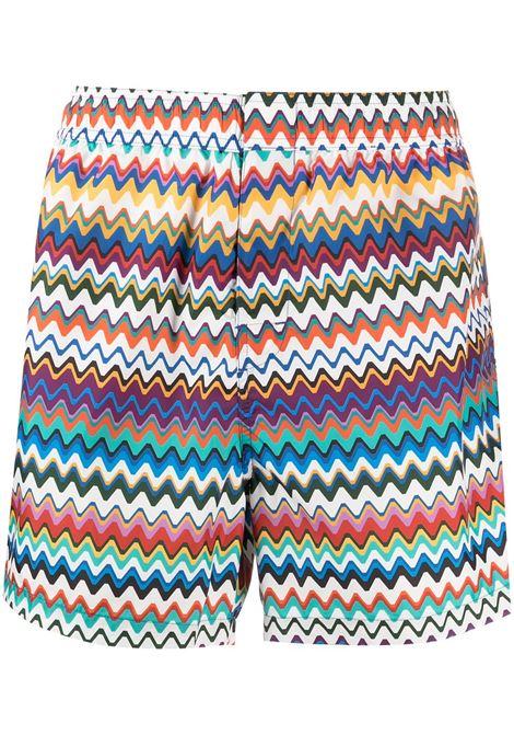Zigzag swimming shorts MISSONI | Swimwear | MUP00005BW00CPS40DS